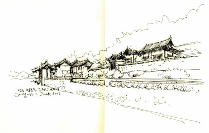 안동-04-법흥동 임청각 군자정